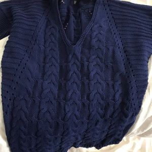 Express Navy sweater